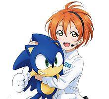 Rin Hoshizora SEGA Sonic the Hedgehog Photographic Print