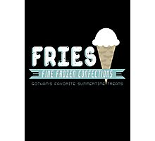 Fries Fine Frozen Confections - Mr. Freeze Photographic Print