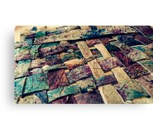 Woven Canvas With Wire Canvas Print