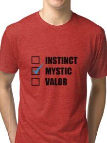 Team Mystic Pokemon Tri-blend T-Shirt