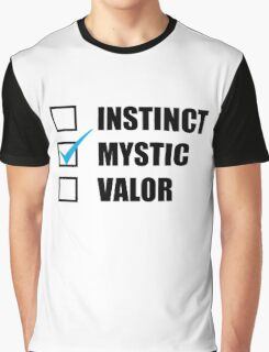 Team Mystic Pokemon Graphic T-Shirt