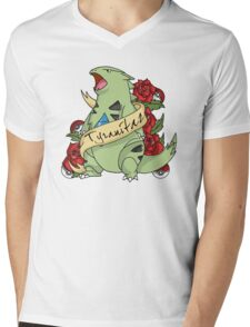 Tyranatar tattoo Mens V-Neck T-Shirt