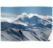 Espace Killy Panorama Poster