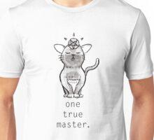 Satancat has one true master Unisex T-Shirt