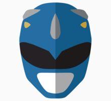 Mighty Morphin Power Rangers - Blue Ranger Kids Tee
