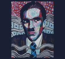 Ron Mael on dark and handsome tees!  by Blake Chamberlain