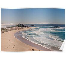 Nobbys Beach, Newcastle Australia Poster