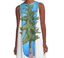 Douglas Fir A-Line Dress