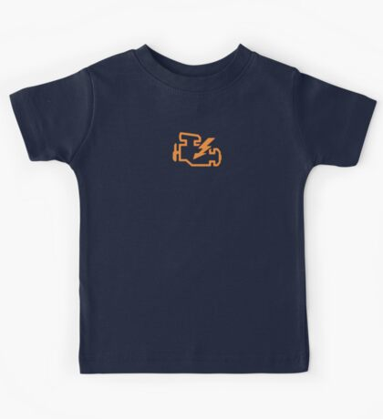 Check Engine - Hot Rod Edition Kids Tee