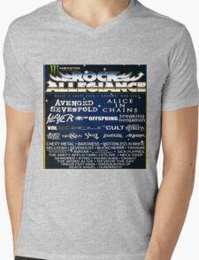 ROCK ALLEGIANCE LINEUP 2016 Mens V-Neck T-Shirt