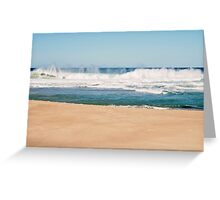 Bar Beach, NSW Australia Greeting Card