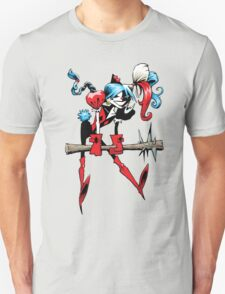 Harlequin Girl Unisex T-Shirt