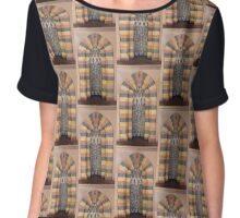 Middle Eastern Archway No. 12 Chiffon Top