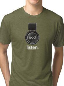 Listen Tri-blend T-Shirt