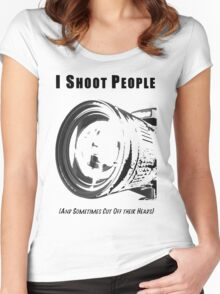 My Real Hobby Women's Fitted Scoop T-Shirt