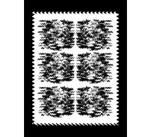 Static Block Wavy Pattern Photographic Print