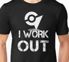 I Work Out - At the Gym Unisex T-Shirt