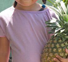 Little pineapple girl Sticker