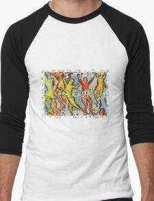 The Dance Men's Baseball ¾ T-Shirt