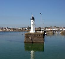 Lighthouse at St Andrews, Scotland by Clayton Suares