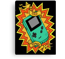 Game Boy Old School Canvas Print