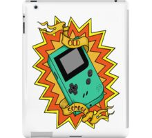 Game Boy Old School iPad Case/Skin