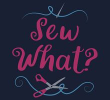 Sew what? with needle and scissors One Piece - Short Sleeve