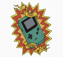 Game Boy Old School by Kiuuby