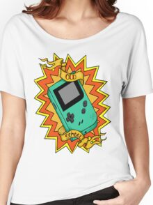 Game Boy Old School Women's Relaxed Fit T-Shirt