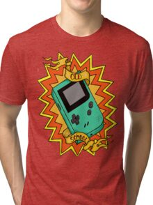 Game Boy Old School Tri-blend T-Shirt