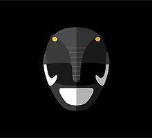 Mighty Morphin Power Rangers - Black Ranger by gmorningnight