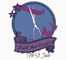 Bald and Beautiful For St. Jude! (Third Design) by Sarah Ball (TheMaggotPie)
