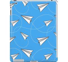 Paper airplane iPad Case/Skin