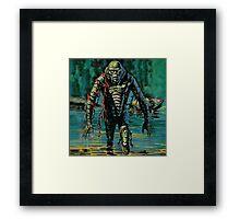 Swamp Creature Framed Print
