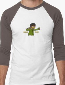 Kodak Black Men's Baseball ¾ T-Shirt