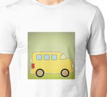 Little Yellow School Bus, enhanced Unisex T-Shirt