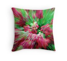 Abstract Punch Throw Pillow