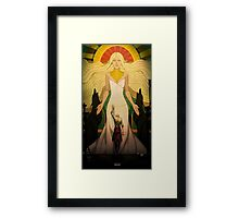 A Goddess of his own Framed Print