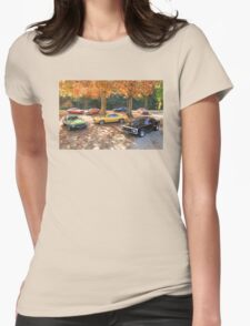 Autumn Muscle Womens Fitted T-Shirt