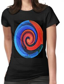 If Picasso Went Tao Womens Fitted T-Shirt