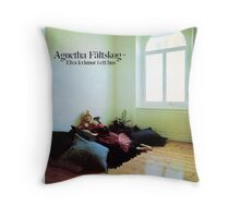 Agnetha Faltskog from Abba wonderful cover album design!~ Throw Pillow
