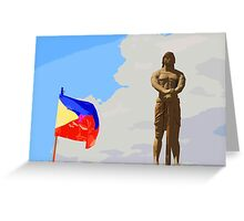 Sentinel of freedom Greeting Card