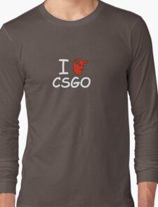 I Heart CSGO Long Sleeve T-Shirt