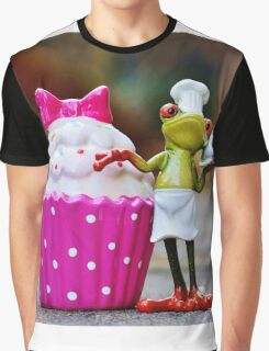 Frog the Chef and cook Graphic T-Shirt