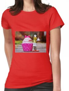 Frog the Chef and cook Womens Fitted T-Shirt