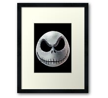 Polygon Art : Jack Skellington Framed Print