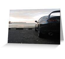 Toyota Supra RZ Greeting Card