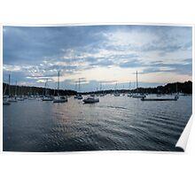 Port Huntington Poster