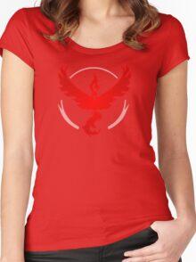 Team Valor - Pokemon GO Women's Fitted Scoop T-Shirt