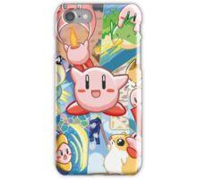 Kirby's Dream Land 3 - Companion Abilities iPhone Case/Skin